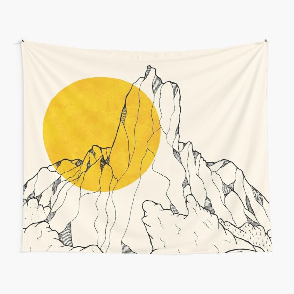 The peak and the waves Tapestry