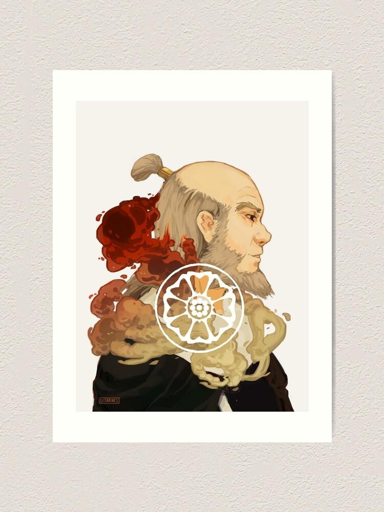 Alternate view of Iroh  Art Print