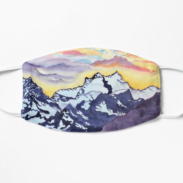 Sunset Mountains Mask