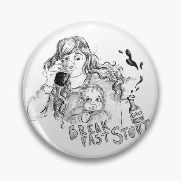 Breakfast Stout Pin