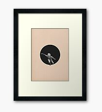 Escape from the Black Hole Framed Print