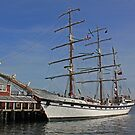 The Barque Simon Bolivar by HALIFAXPHOTO