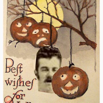 Best wishes (Vintage Halloween Card) by jibbsmerch