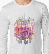 Building Clouds Long Sleeve T-Shirt