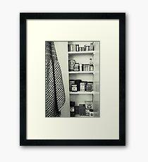 """Kitchen - Spice Cupboard - 1940's""   Framed Print"