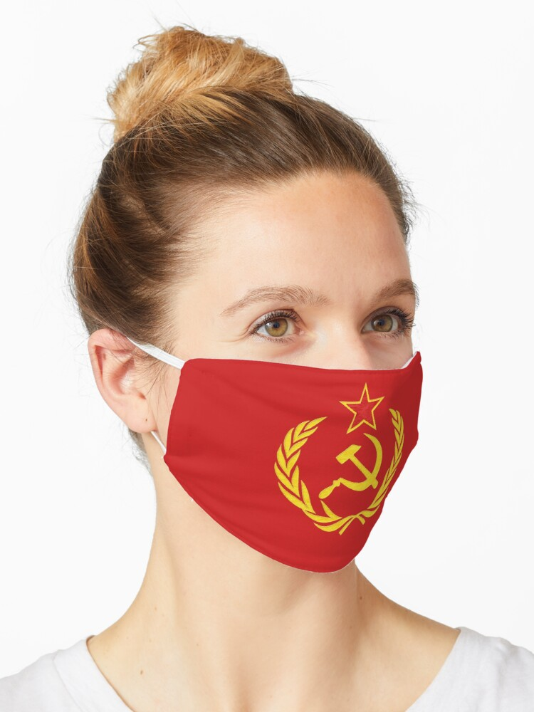 """HAMMER AND SICKLE"""" Mask by Paparaw 