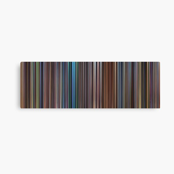 Moviebarcode: The Complete Pixar Feature Films (1995-2011) Canvas Print