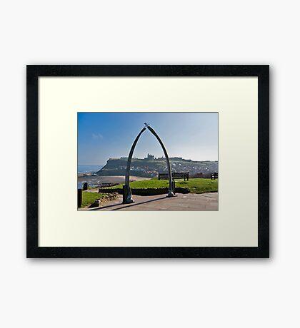 Whitby Views Framed Print
