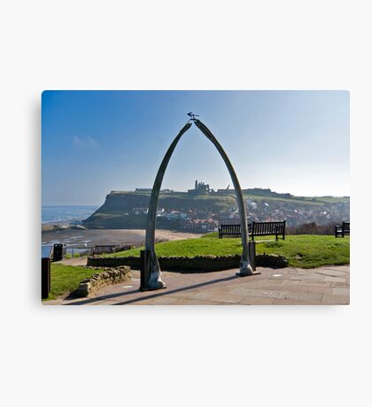 Whitby Views Canvas Print