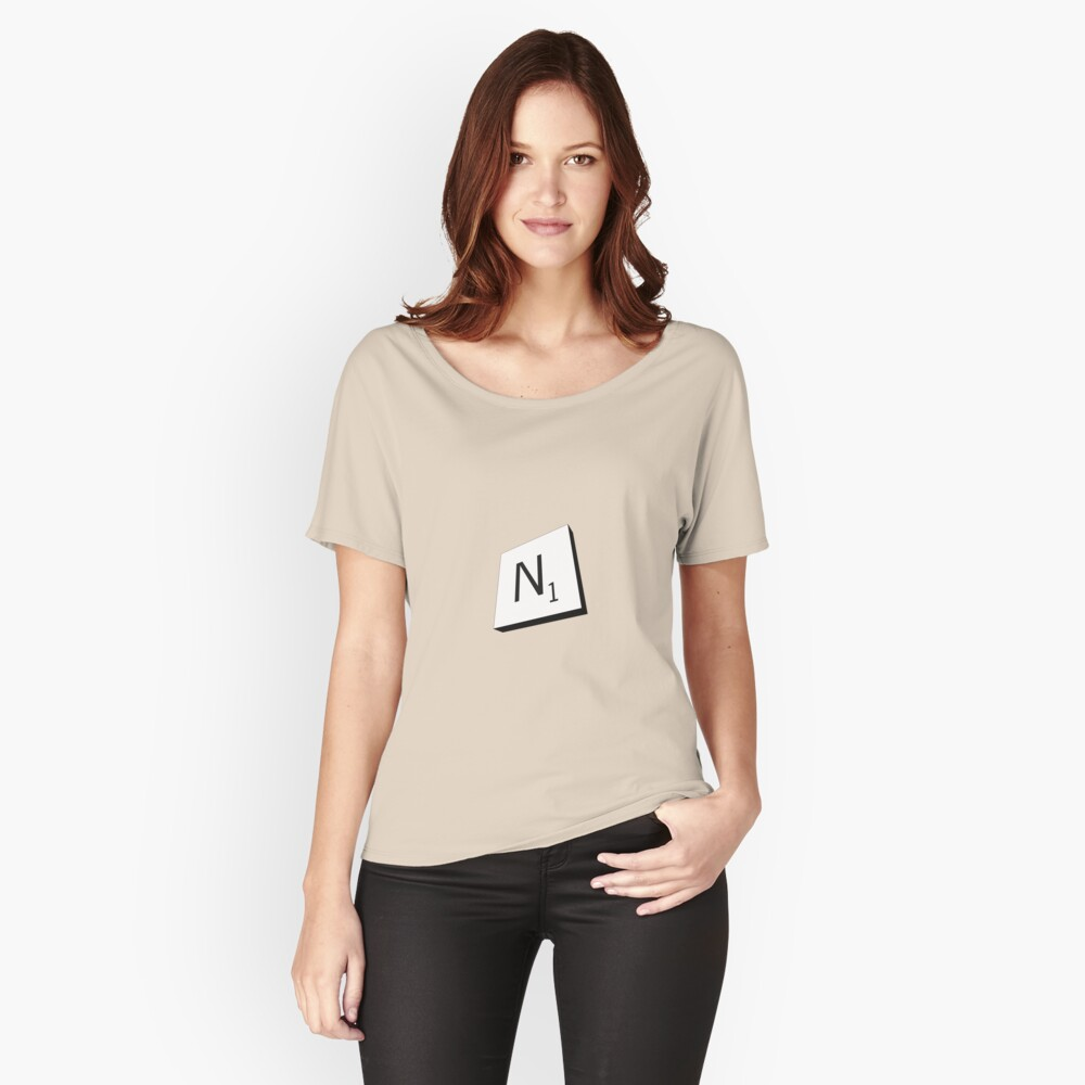 N Women's Relaxed Fit T-Shirt Front