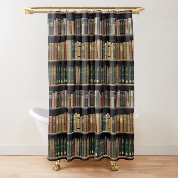 Endless Library (pattern) 4 Shower Curtain