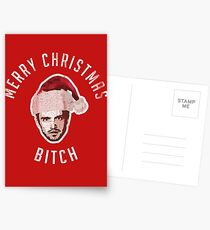 Merry Christmas. Bitch. Postcards