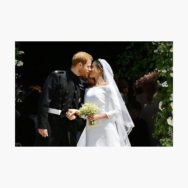 Wedding of Prince Harry and Meghan Markle Photographic Print