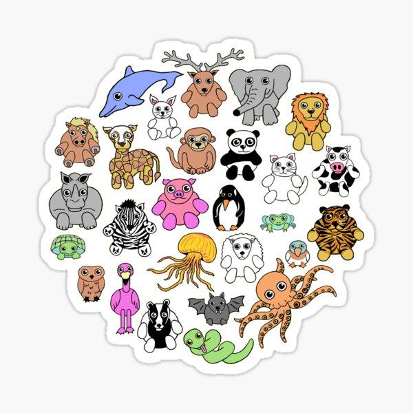 Animals Pattern Sticker