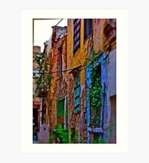 I'm so okay ! Spring mood. Chania. Greece.  by Doctor Faustus. Featured in Abstract Art. 2 favoritings 71 views. Thx! Art Print