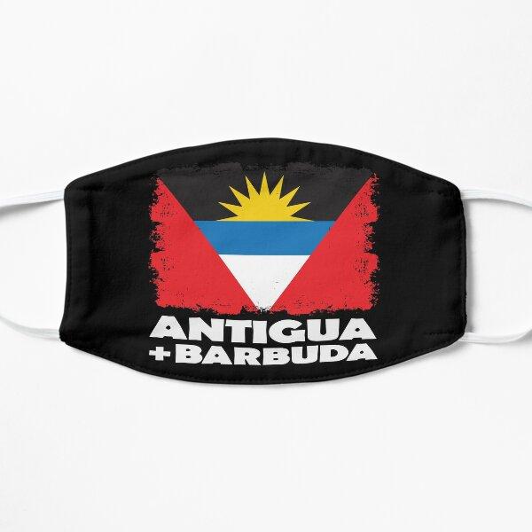 Antigua and Barbuda National Flag Distress  Flat Mask