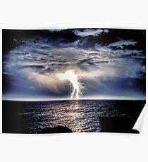 Heavy Weight Lightning Poster