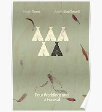 Four Weddings and a Cliche Poster