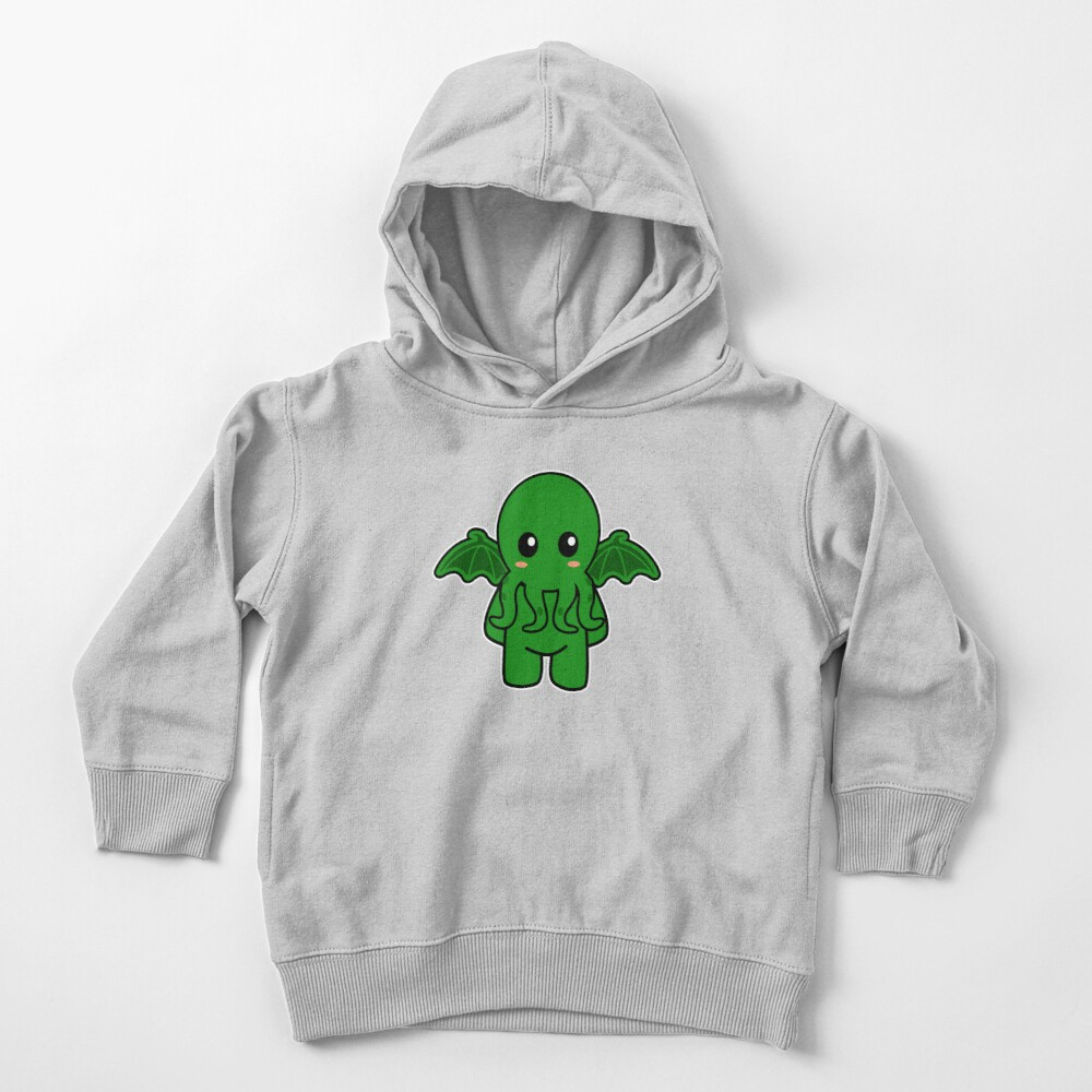 Cute Cthulhu Toddler Pullover Hoodie