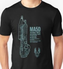 MA5D Assault Rifle Unisex T-Shirt
