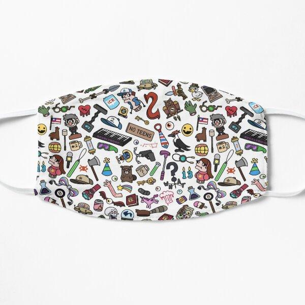 Gravity Falls Pattern Flat Mask