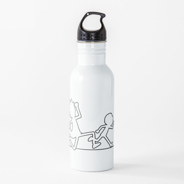 Rick and Morty Water Bottle