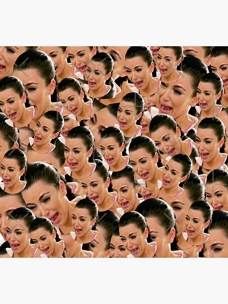 Crying Kim Kardashian by ValentinaHramov