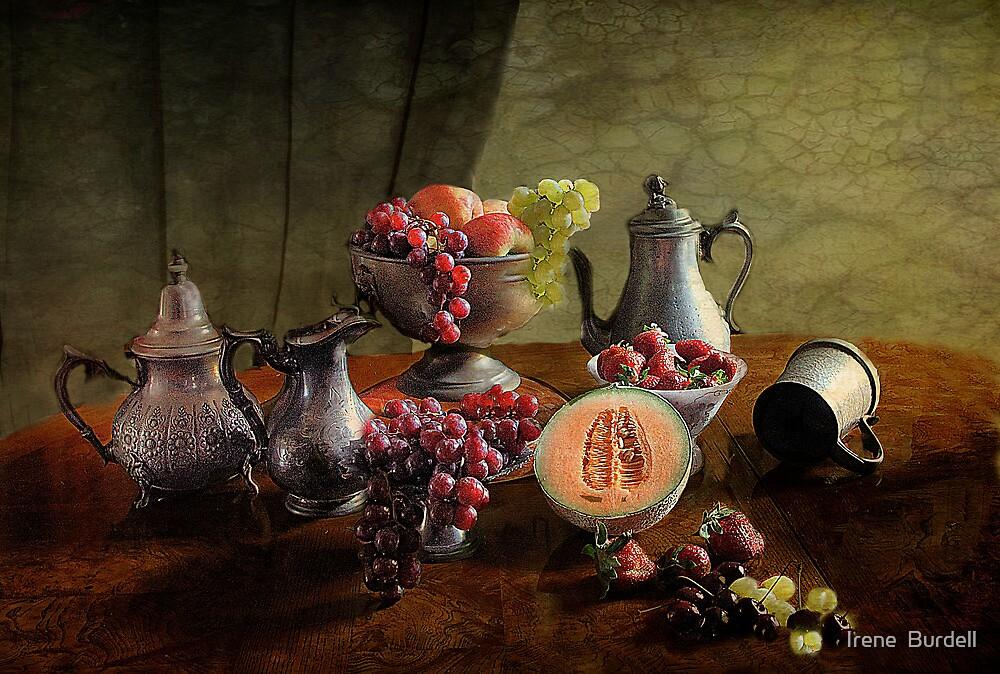 Fruit Feast  by Irene  Burdell
