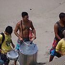 Musicians at the beach - Musicos en la Playa by PtoVallartaMex