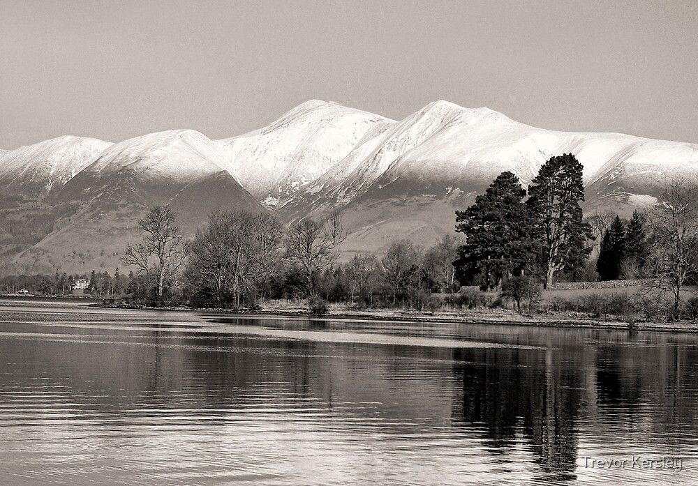 Derwentwater Lake District by Trevor Kersley