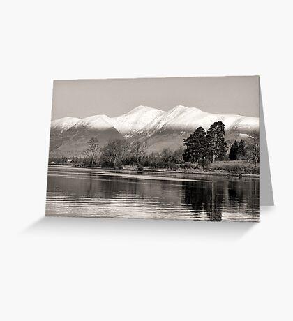 Derwentwater Lake District Greeting Card