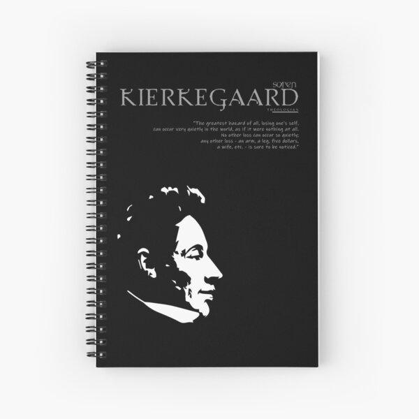 A Quote By Søren Kierkegaard Spiral Notebook
