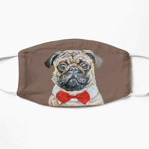Pug (oil painting) Mask