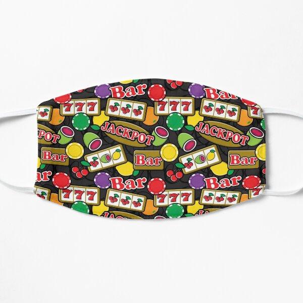 Casino Jackpot Lucky Slot Machine Fruit Slots Pattern  Mask