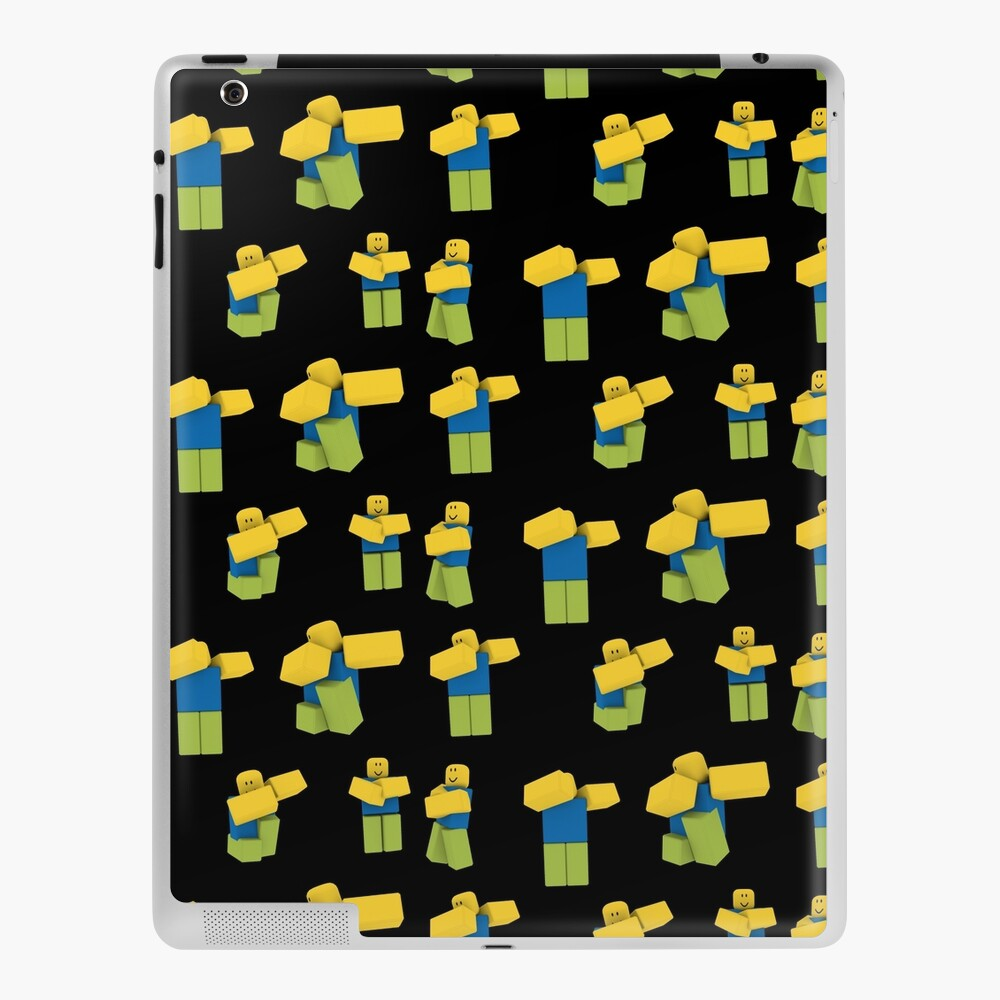 Roblox Find The Noobs Roblox Dabbing Dancing Dab Noobs Meme Gift Ipad Case Skin By Smoothnoob Redbubble