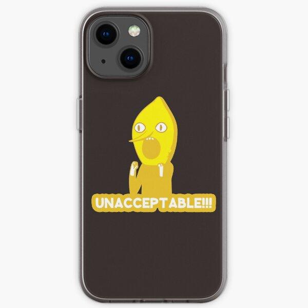 Adventure Time Lemongrab Unacceptable iPhone Soft Case