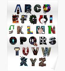 Geek's Alphabet Poster