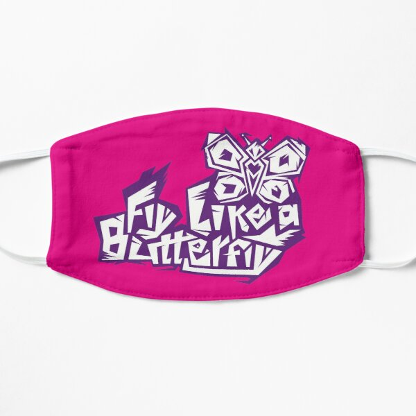 Fly Like a Butterfly (mix) Flat Mask