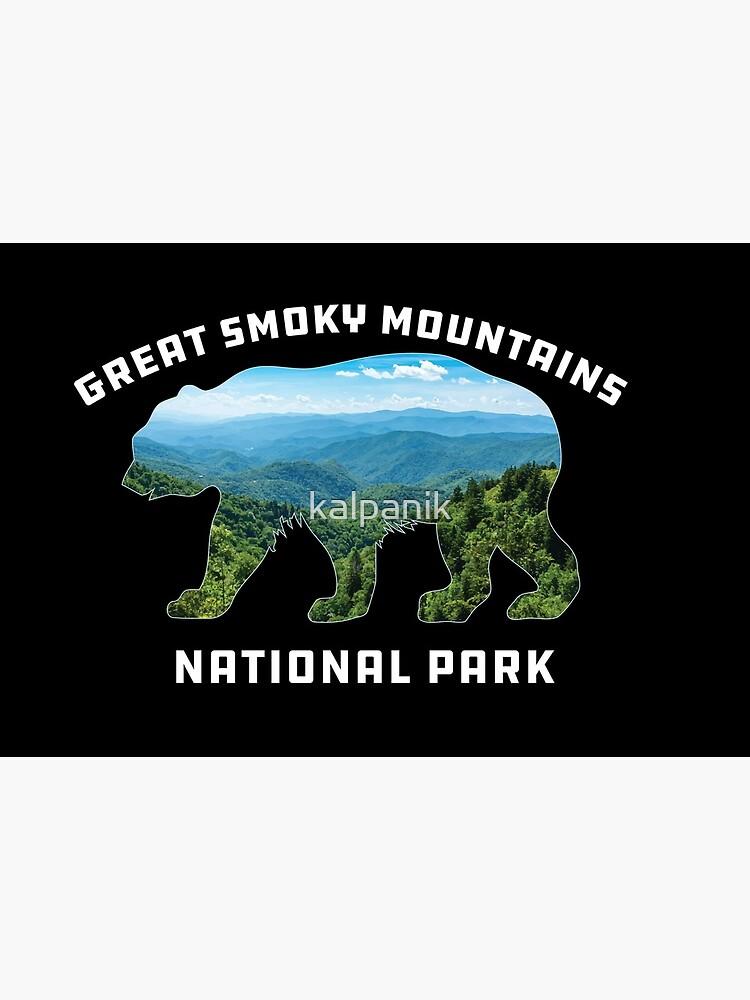 Great Smoky Mountains National Park vintage bear souvenir by kalpanik