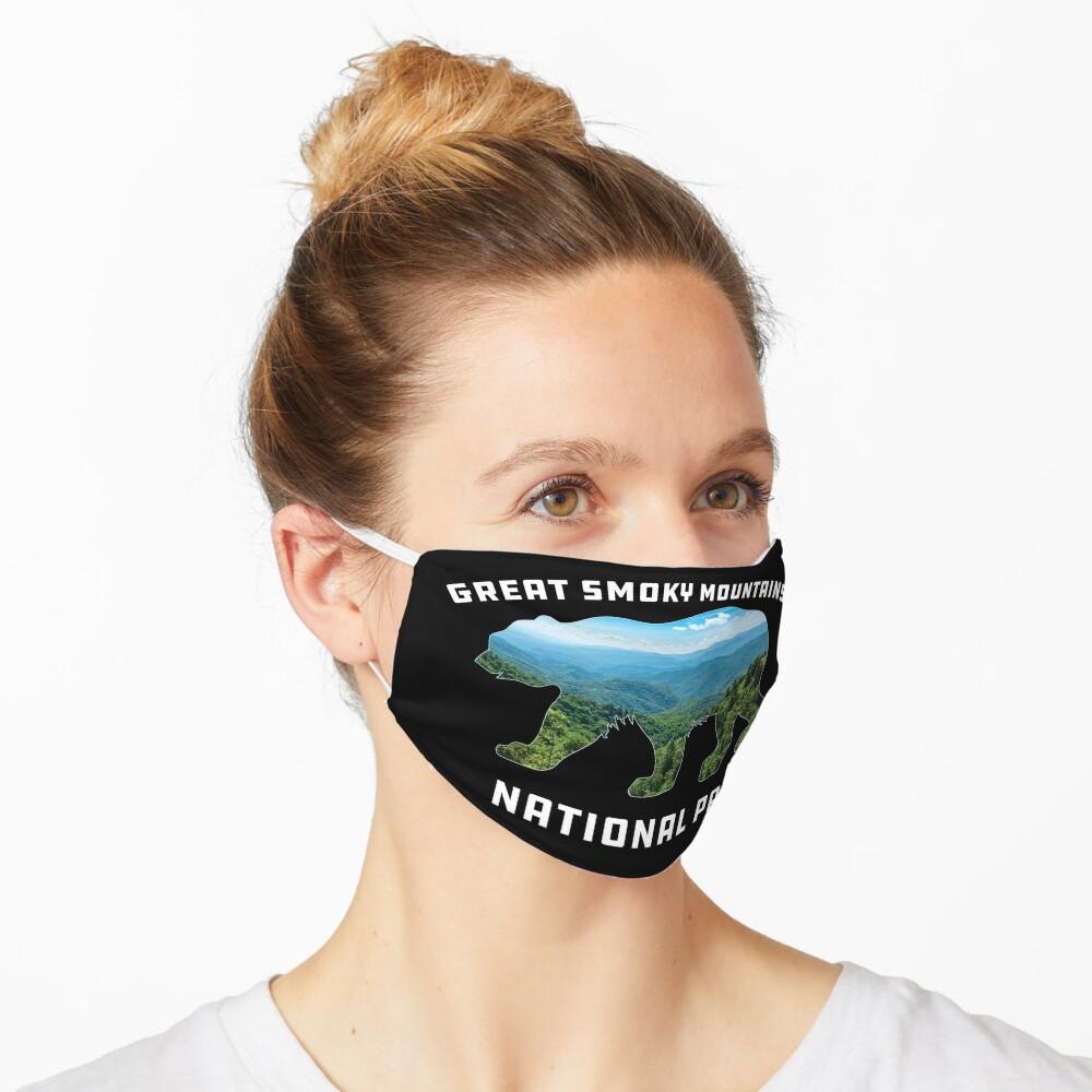 Great Smoky Mountains National Park vintage bear souvenir Mask