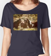 The Three Mares Women's Relaxed Fit T-Shirt