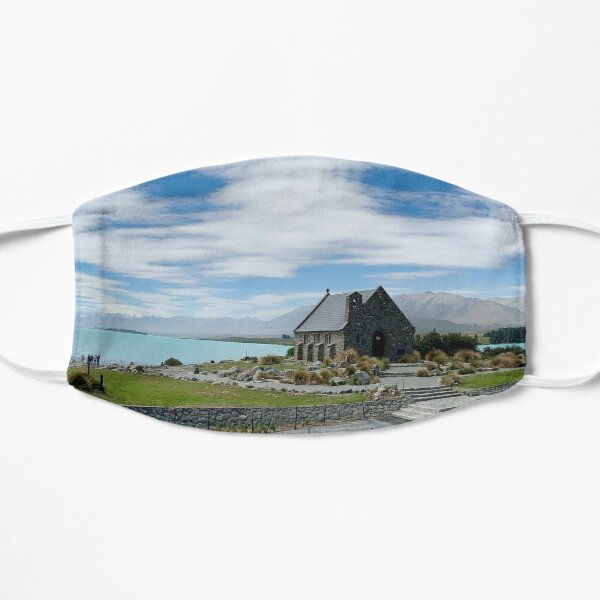 Lake Tekapo NZ Panorama Mask