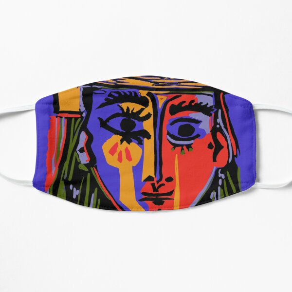 Picasso - Woman's head #4b Mask