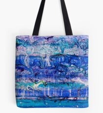 Ebb and Flow - Acrylic and Lenses on canvas Tote Bag