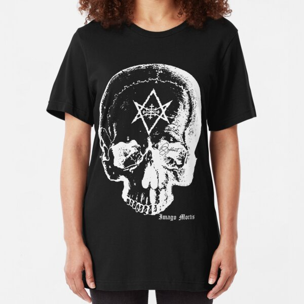 Baphomet Skull Slim Fit T-Shirt