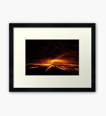 Night Nutters strike again-4 Framed Print