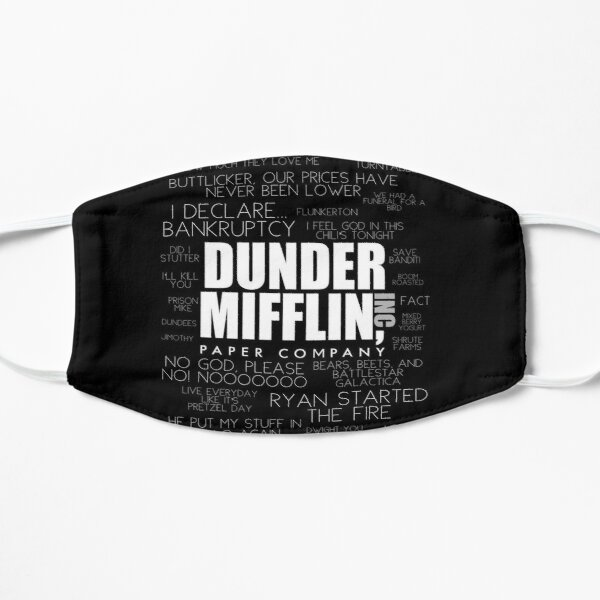The Office™ Quotes Dunder Mifflin Inc.  Mask