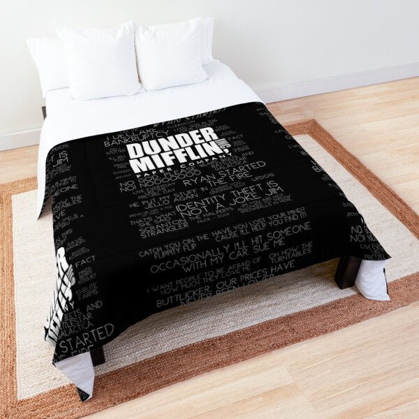 The Office™ Quotes Dunder Mifflin Inc.  Comforter