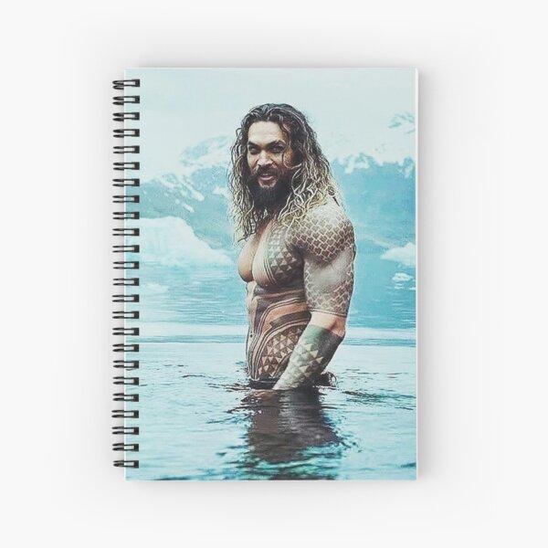 Jason Momoa  Spiral Notebook