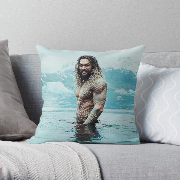 Jason Momoa  Throw Pillow